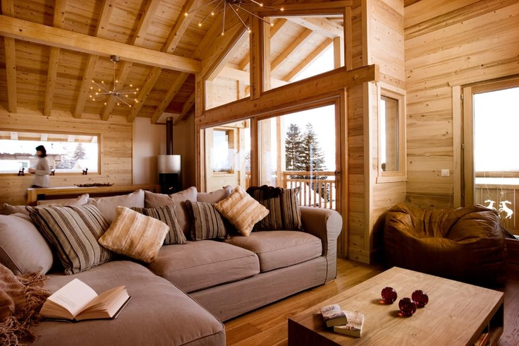 There are fabulous views of the mountains and the valley below from the first floor balcony which extends around three sides of the chalet. The chalet also has a hot tub - great for relaxation after a hard day's skiing or walking in the mountains.  Chalet Renard, Nendaz, #Switzerland.  http://www.thehideawaysclub.com/properties2/index/property/id/110/fund/1  #LuxuryChalet #TheHideawaysClub