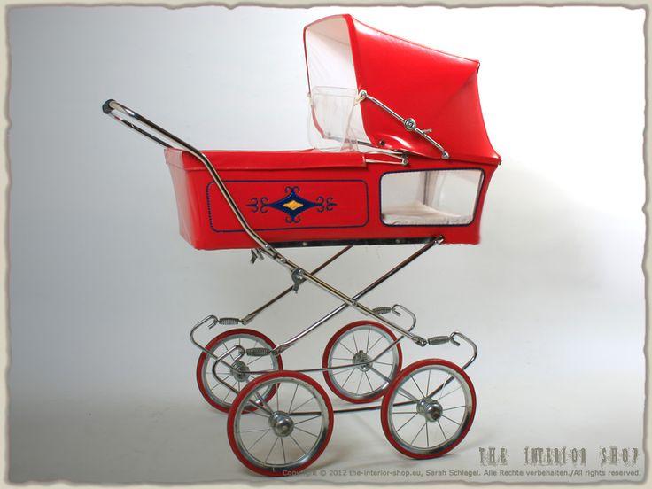Antiker Puppenwagen Kinderwagen * 50er-Jahre * 60er-Jahre * Designklassiker * RAR *