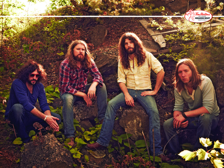 Friday, June 20, 2014 at 9:30pm Canadian rock band The Sheepdogs will headline the CTV Main Stage playing a free all ages concert at Mooney's Bay.
