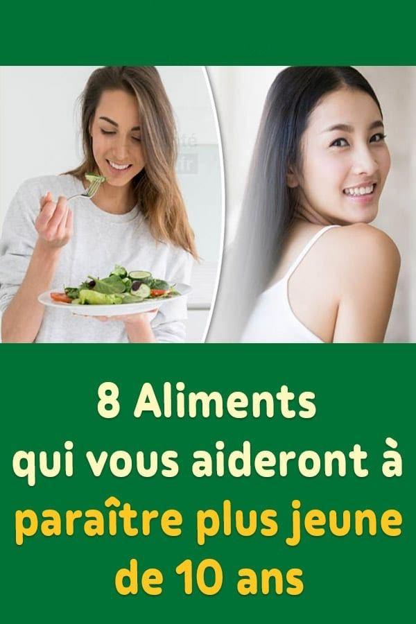 8 Aliments qui vous aideront à paraître plus jeu…