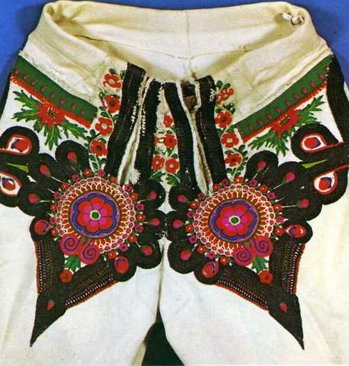 Traditional Polish folk costume in the southern region ( Tatra Mountains )