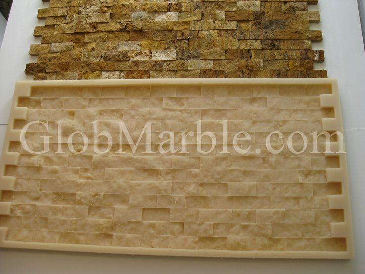 Mosaic Stone Rubber Mold. Concrete Veneer Paver