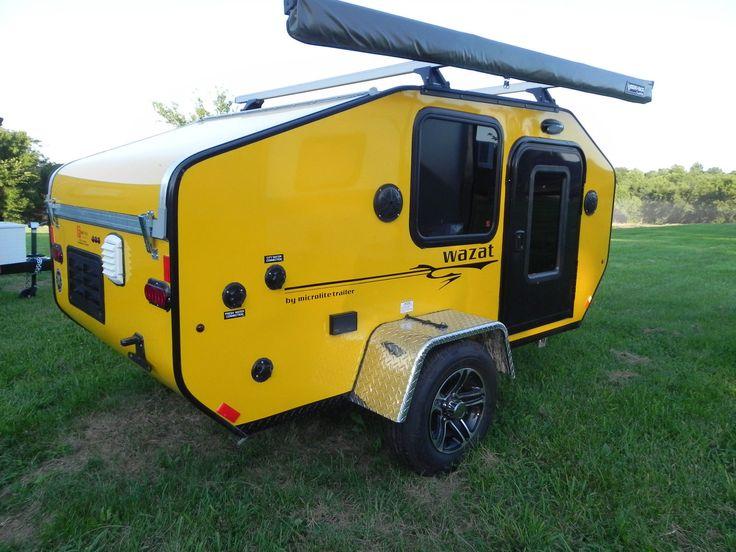 2015 Micro Lite Wazat II Teardrop camper Trailer | eBay