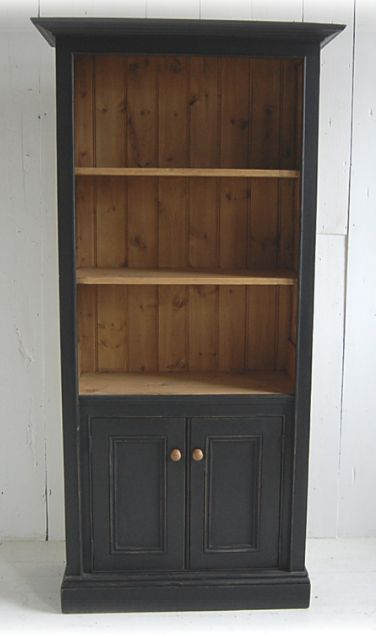 VINTAGE: 2-Door Reclaimed Wood Bookcase £495 from www.eastburycountryfurniture.co.uk