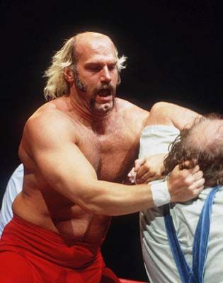 "Jesse ""The Body"" Ventura from WWF before it was WWE"