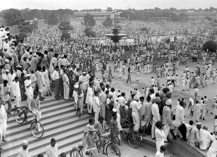 India's First Independence Day Celebrations in Delhi AUGUST 15, 1947