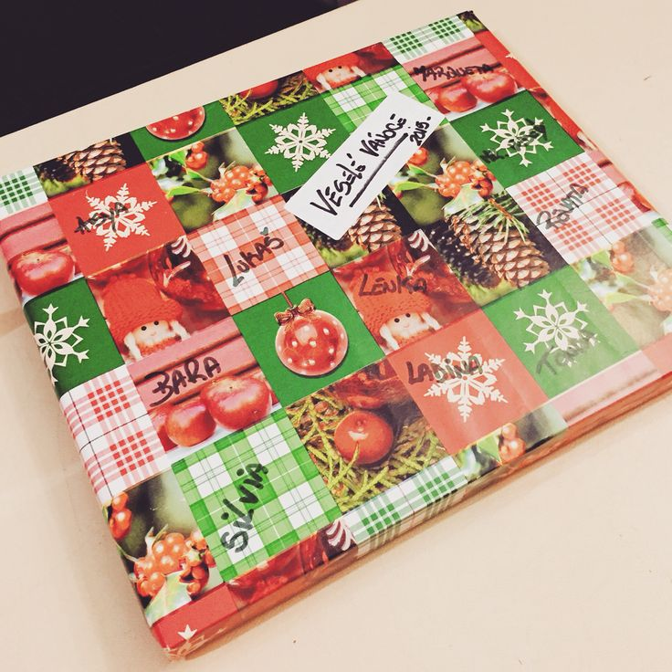 Big thanks to our colleagues from #ROOMtapasbar #Christmas #present