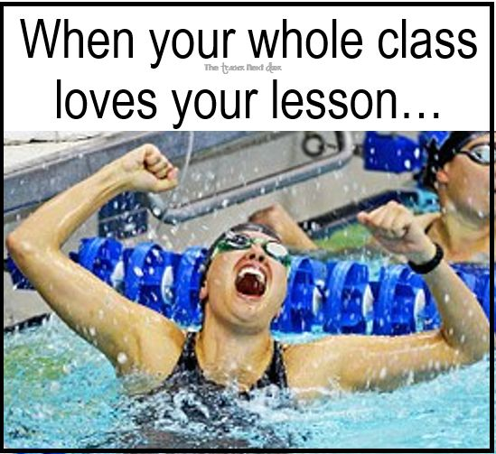 Such a great feeling! Find more teacher humor and observations that might make you laugh on The Teacher Next Door's Teacher Humor Pinterest Board.