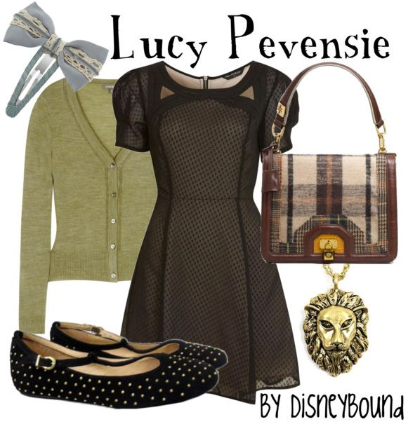 """Click through for [currently] 2 tags """"Narnia"""" on the DisneyBound fashion blog -- includes outfits inspired by Lucy Pevensie and The White Witch"""