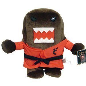 "Domo Kun Red Karate Kung Fu 12 Plush Doll by Domo. $18.95. Domo Kun Red Karate Kung Fu 12"" Plush Doll  12 tall"