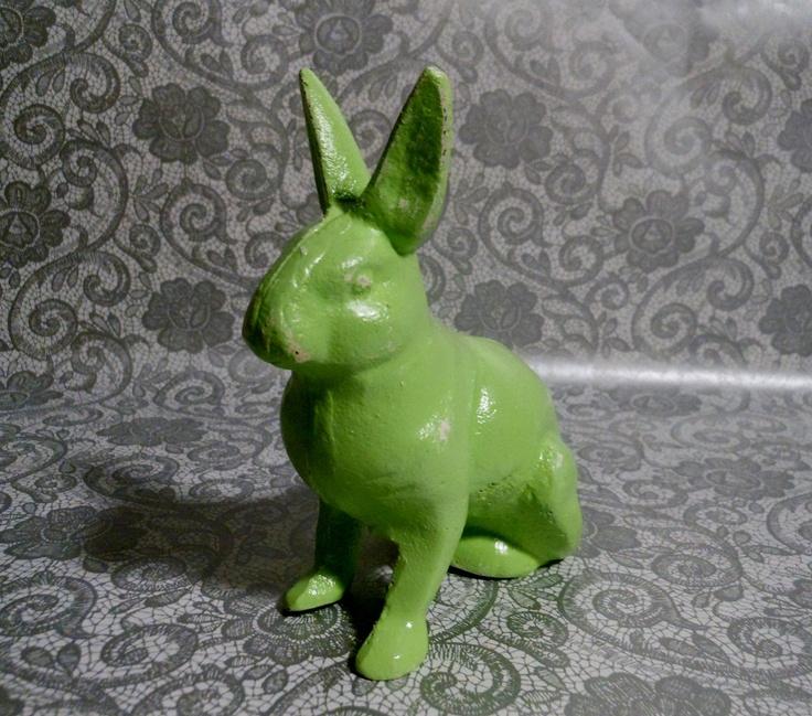 Pistacchio Green Bunny.