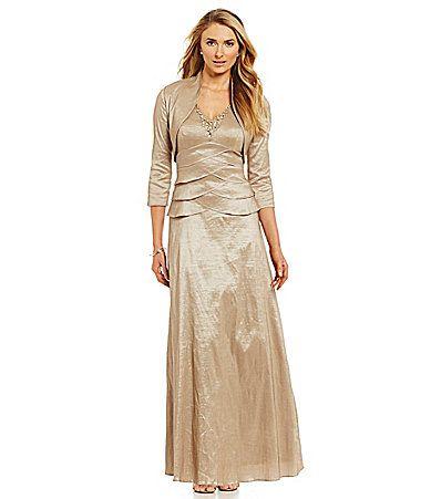 126 Jessica Howard Stretch Taffeta Jacket Dress Dillards 50th Wedding Anniversaryjacket