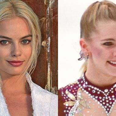 Hot: Margot Robbie cast as notorious ice skater Tonya Harding in I Tonya