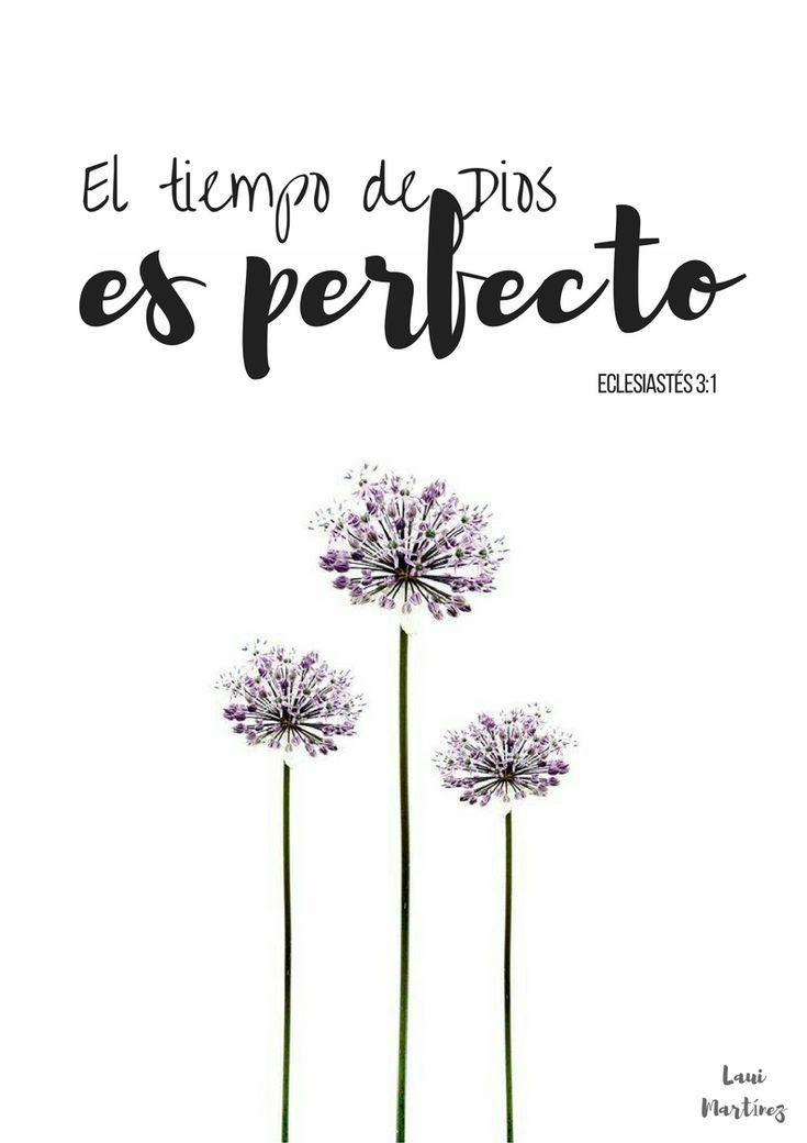 Siempre es bueno recordar que todo pasa cuando tiene que pasar. Ni antes ni después. El tiempo de dios es perfecto. Frases de inspiración para emprendedoras.