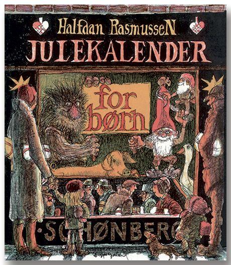 Julekalender for børn Halfdan Rasmussen julekalender , BarneGuiden.DK