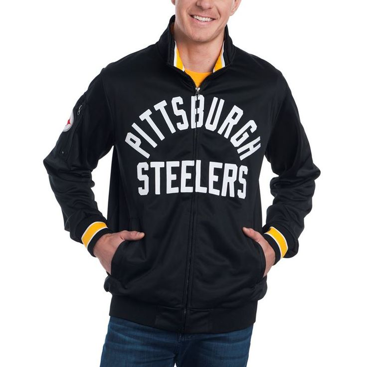 Shop the Official Steelers Pro Shop for Pittsburgh Steelers GIII Contender Full Zip Jacket