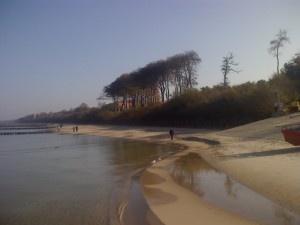 Plaża w Ustroniu Morskim