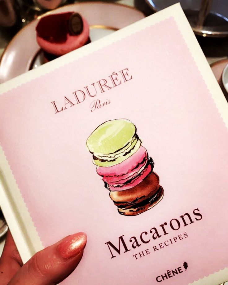 A book of wonder from Ladurée
