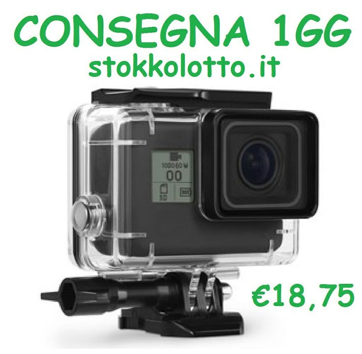 gopro hero 5 supporti accessori e attacchi waterproof stagno case cover custodia impermeabile trasparente sub subacqueo snorkling immersioni http://stokkolotto.it #inselly #gopro #goprohero #goprohero5 #supportigopro5 #accessorigopro5 e #attacchigopro5 #waterproofgopro5 #stagnogopro5 #casegopro5 #covergopro5 #custodiagopro5 impermeabile trasparente sub subacqueo snorkling immersioni