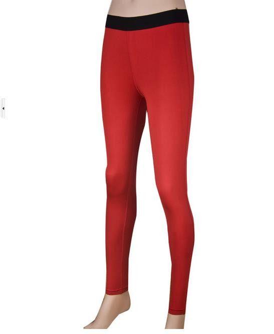 YEL Gym Yoga Pants Girls Leggings Tights Calzas Mujer Leggins Sports Trousers Roupa De Academia Women Running Dress Pants