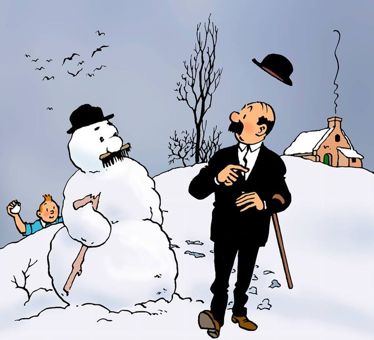 The Thomson Twins, from The Adventures of Tintin - comic series by Belgian cartoonist Hergé.