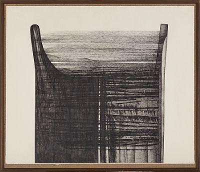 Zdenka Rusova, radering 1972