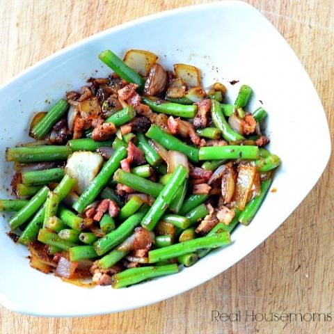 Bacon Onion Green Beans_Square