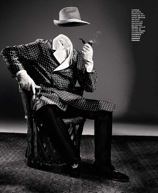Invisible man series for m le monde trendland fashion blog trend