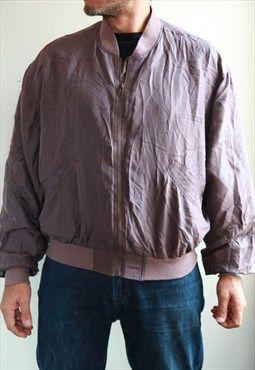 AVANTI Plum Jacket. Size: 48/50, M. Italy