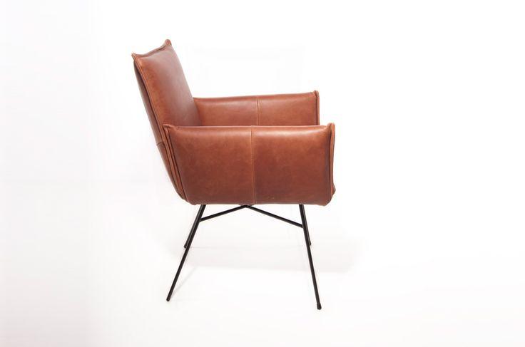 Ber ideen zu stuhl leder auf pinterest for Armlehnstuhl esszimmer leder