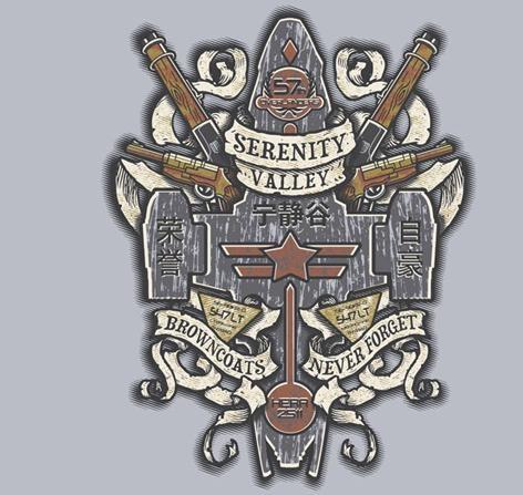 Serenity Valley Memorial by Arinesart - Shirt sold on November 29th at http://teefury.com
