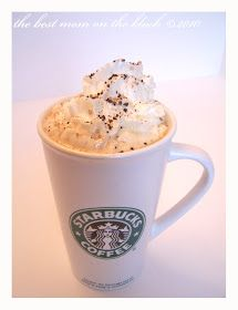 Pumpkin Spice Latte made with a Tassimo