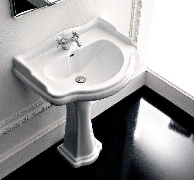Kerasan Retro Umywalka 69x52 cm biała 104601