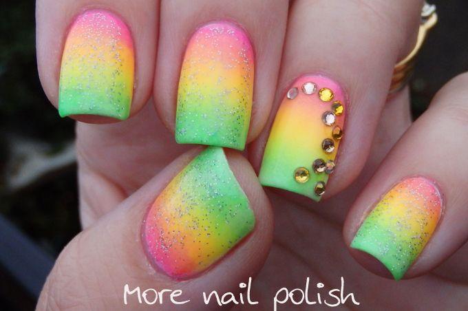 Mejores 245 imágenes de summer nail art en Pinterest | Html, Uñas de ...