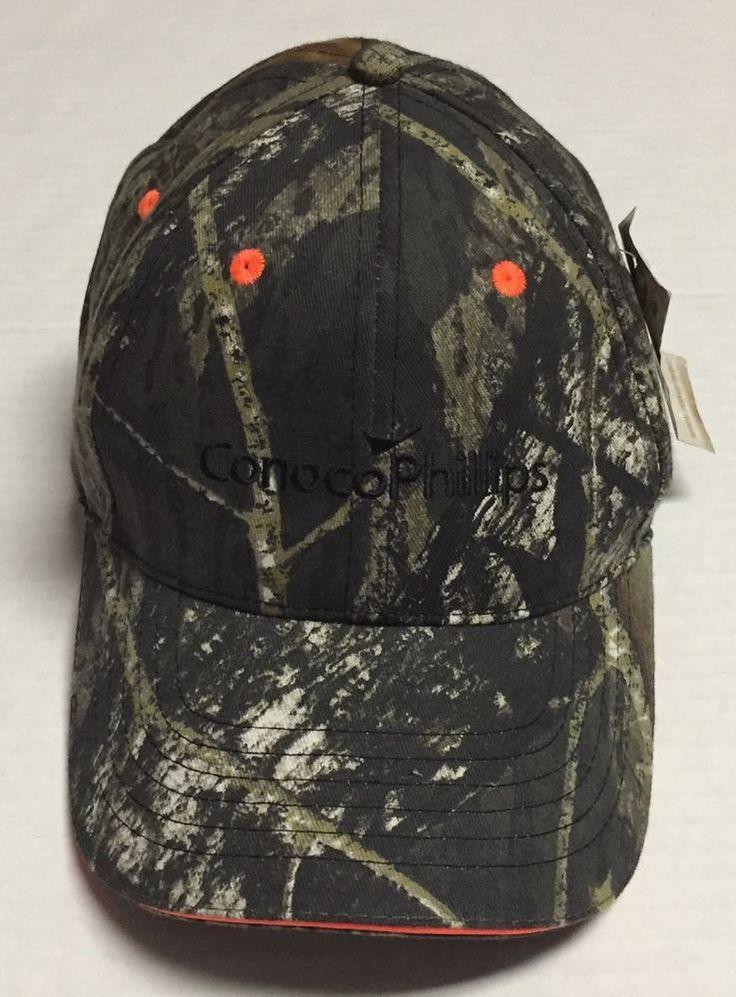 ConocoPhillips Hat Camo Hunting Mossy Oak Oil Gas Baseball Cap Conoco Phillips  | eBay #conocophillips #conoco #phillips #oil #gas #oilfield #baseballcap #hunting #camo #hat