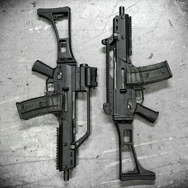 #HK all day. Check out these sick @hecklerandkoch G36C conversions, converted…
