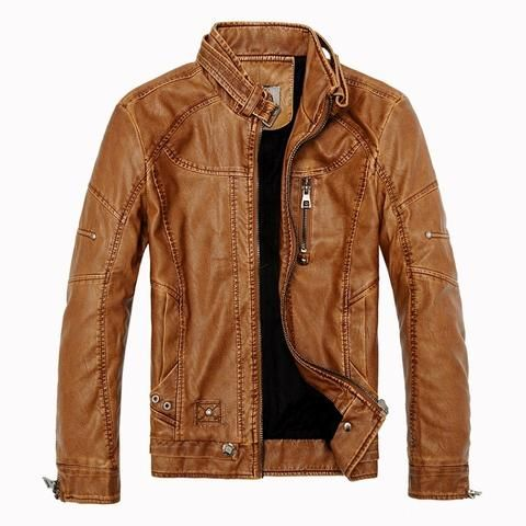 Mens Faux Leather Jacket – KjSelections