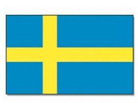 Mil-Tec Fahne Schweden, 90x150cm / mehr Infos auf: www.Guntia-Militaria-Shop.de
