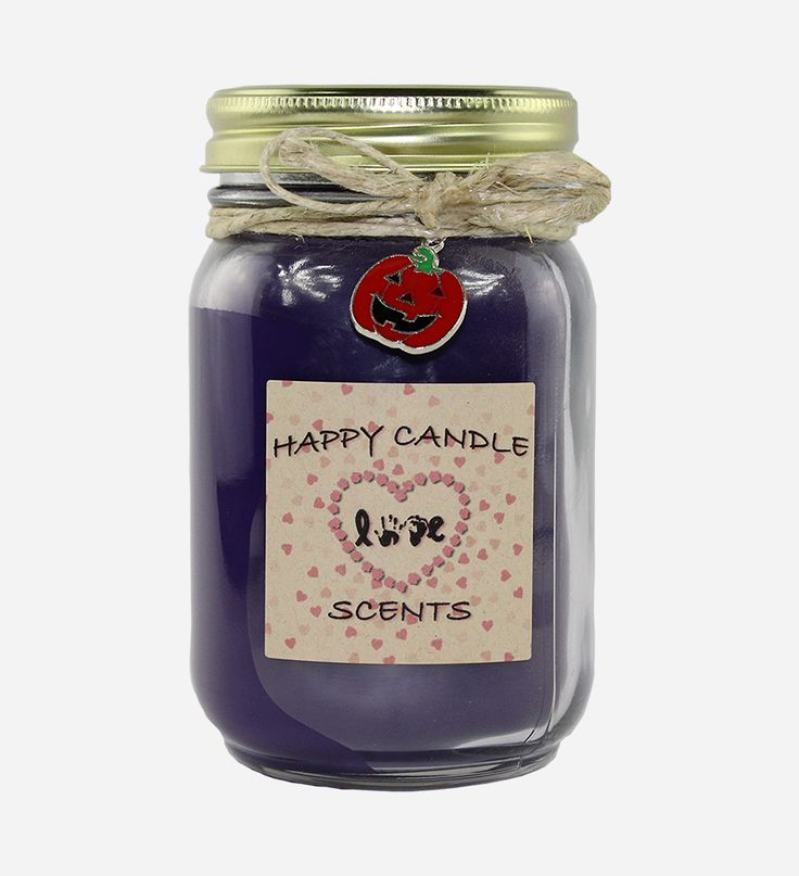 Witching Hour 16 oz Handmade highly scented mason jar candle