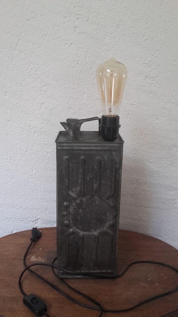 lampe bidon déco loft : Luminaires par lukilum