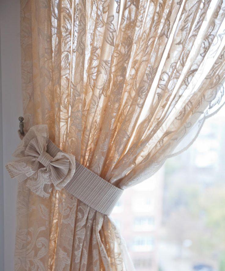 банты на шторах фото