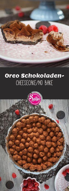 Ein No Bake Oreo Schokoladen-Cheesecake! Sehr lecker und ganz ohne backen!