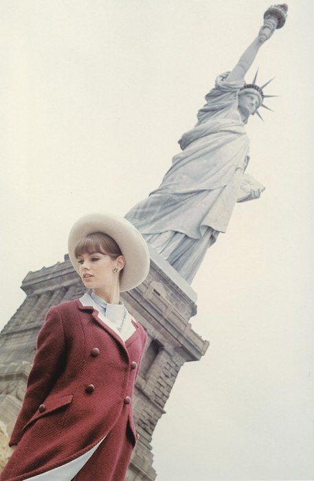 Liberty!: Fashion, Statue Of Liberty, Style, Vintage, Lady Liberty, Jean Shrimpton, Jeanshrimpton, New York