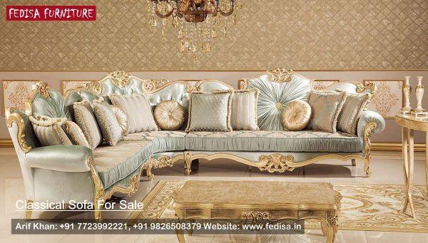 Classic Wooden Sofa Classic Sofa Set Traditional Sofa Fedisa