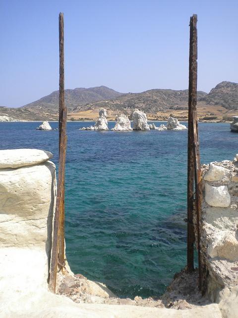 ancient ruins of Ellinika & Aspragremna, Kimolos, Cyclades