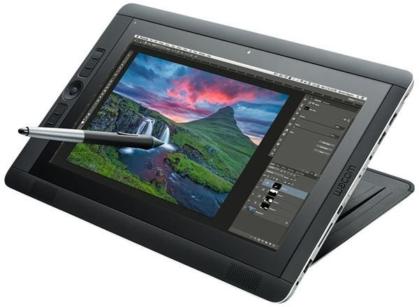 10 Best Graphic Design Tools And Gadgets Design With Red Wacom Cintiq Electronic Gadgets For Men New Electronic Gadgets