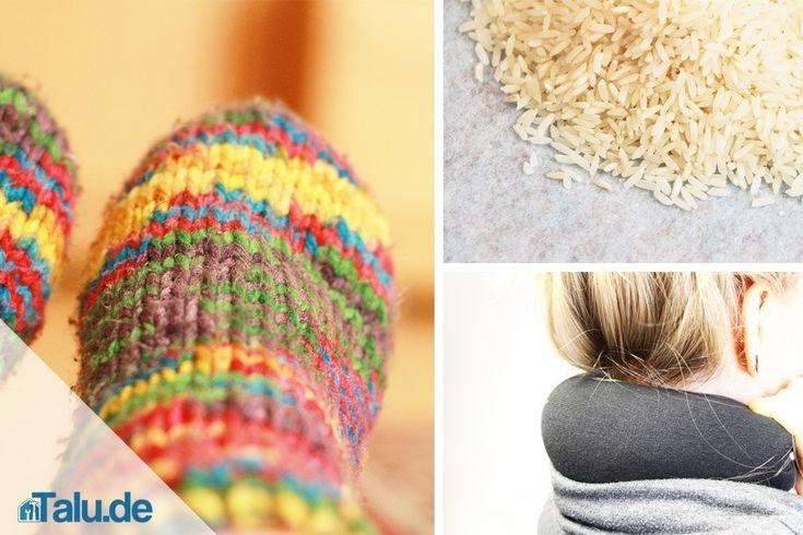 Wärmekissen für den Nacken selber machen – in nur 3 Minuten
