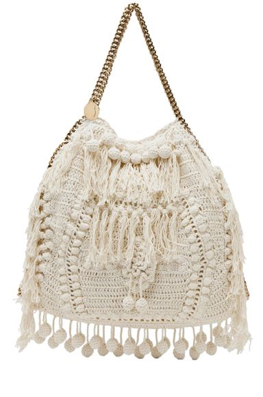 Stella McCartney Crochet Tote