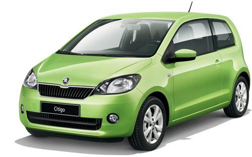 Car Specifications: Scoda Citigo, 1100cc, manual, 5 seats, 5 doors.  Extra: A/C, radio, CD player