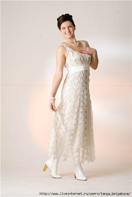 vestidos de novia de punto. Discusión sobre LiveInternet - Servicio de Rusia…